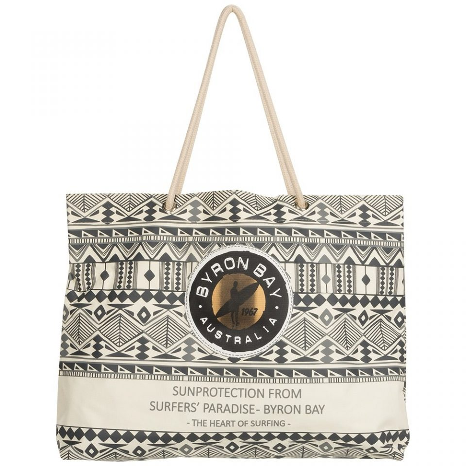 Byron Bay beach bag aztec gevuld