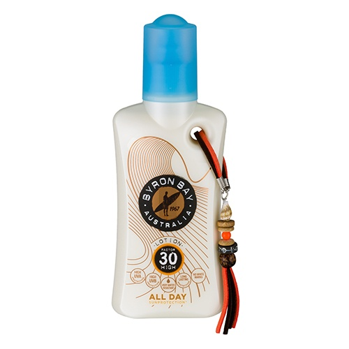 Byron Bay lotion All Day sunprotection SPF 30 500×500